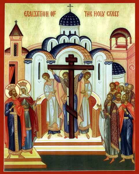 icon for exultation of the cross