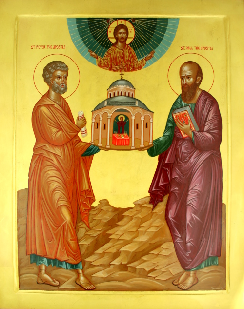Icon for Feast of Peter and Paul