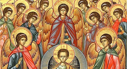 Icon for the Synaxis of the Archangel Michael